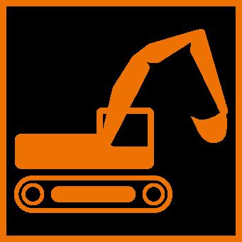 Schwall Bauunternehmung Icon Baumaschine